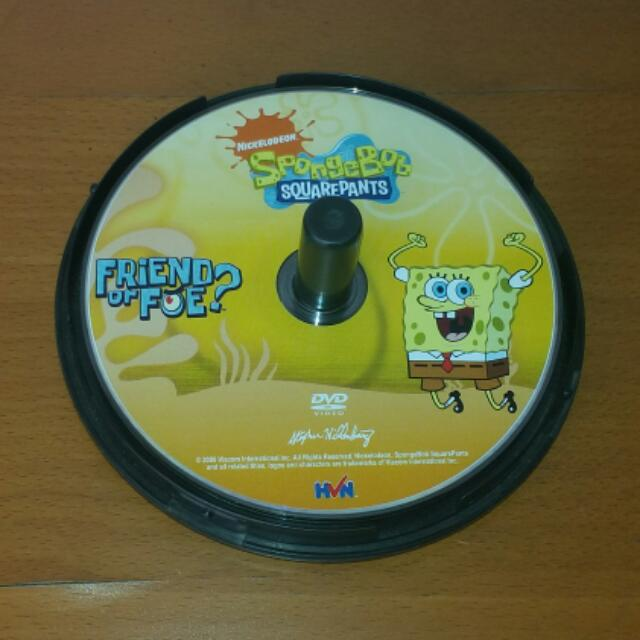 Nickelodeon SpongeBob Squarepants FRIEND or FOE? DVD