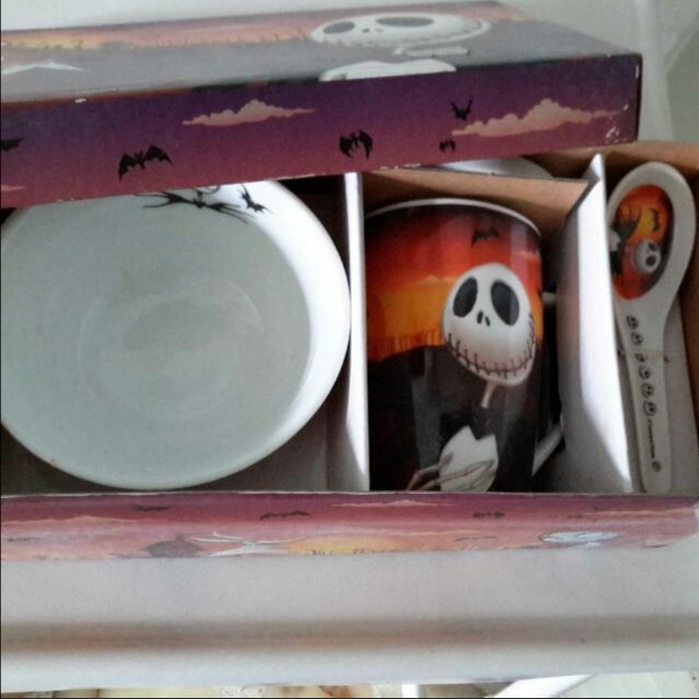Nightmare Before Christmas Tableware Home Appliances On Carousell