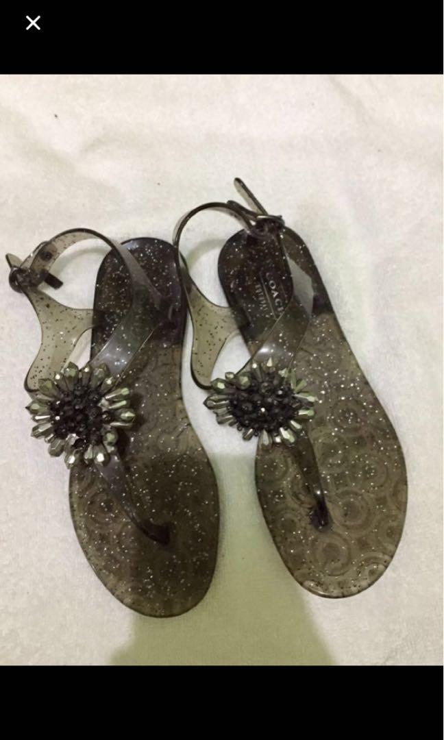 Original Coach jelly sandal