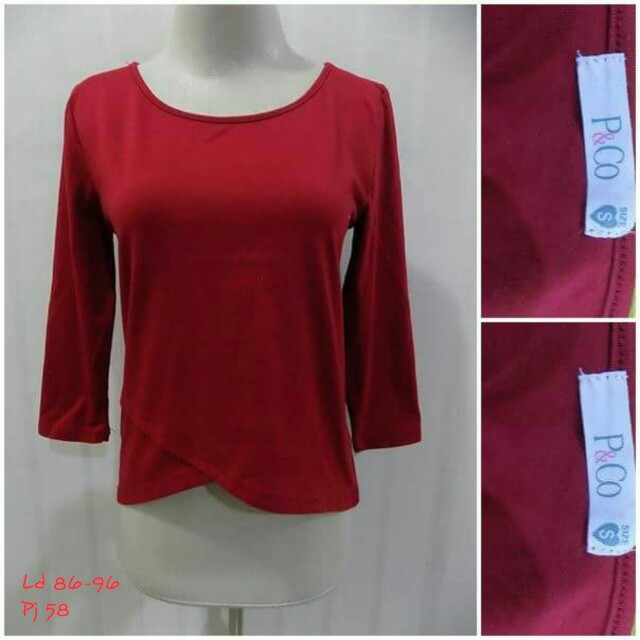 P&co red top