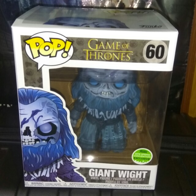 "[PRE-ORDER] Game of Thrones Giant Wight 6"" Funko Pop"
