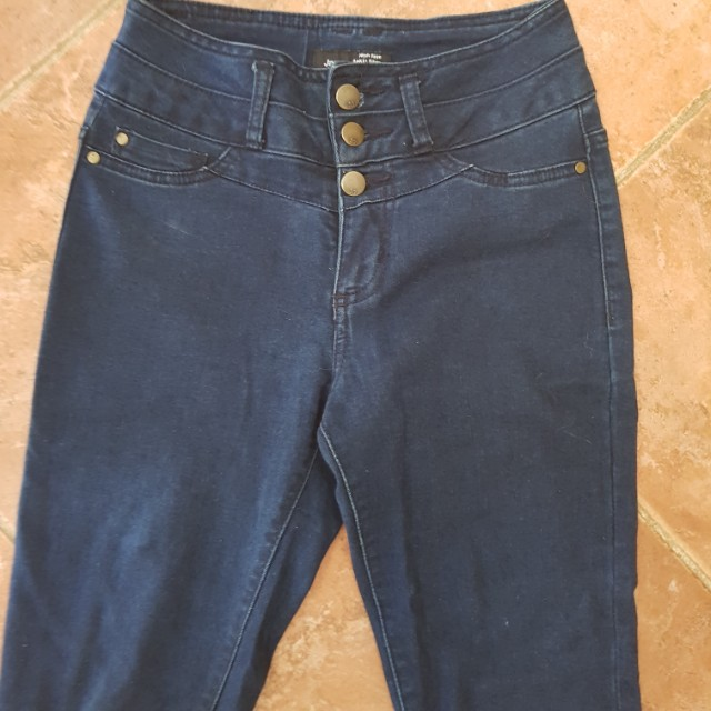 Real high waisted jeans