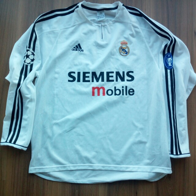 best authentic 72f41 ce4e5 Real Madrid 2003 adidas longsleeve jersey jersi