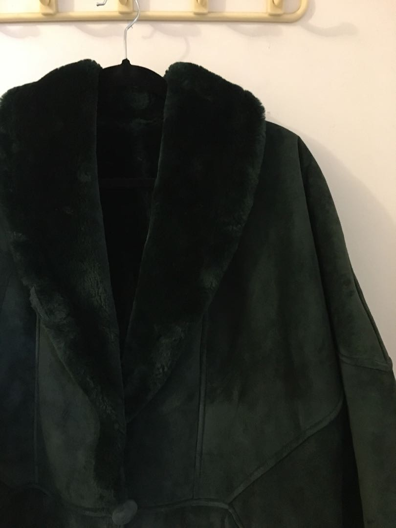 Real suede jacket