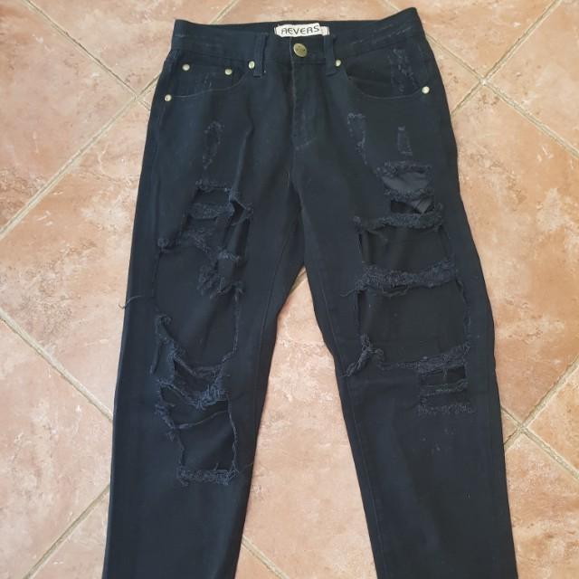 Reverse jeans