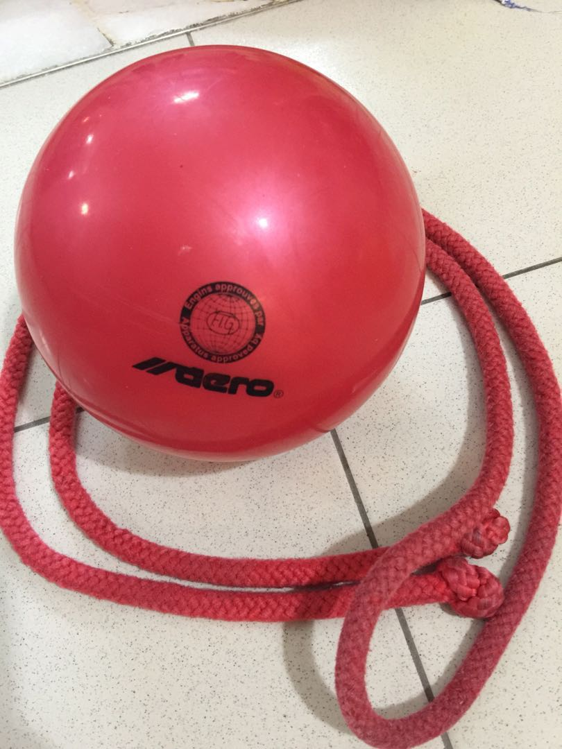 Rhythmic gymnastics Ball and Rope