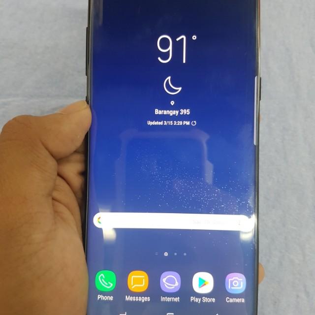 Samsung Galaxy S8 Plus 64GB Midnight Black 4G LTE