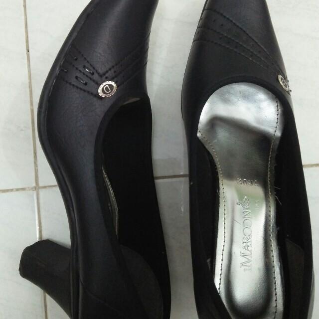 Sepatu pantofel wanita high heels 3cm 3031cc080e