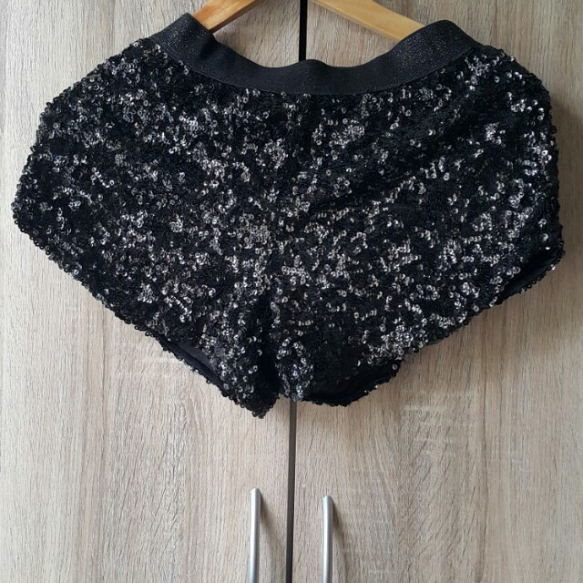 Seventeen Sequined Party Shorts