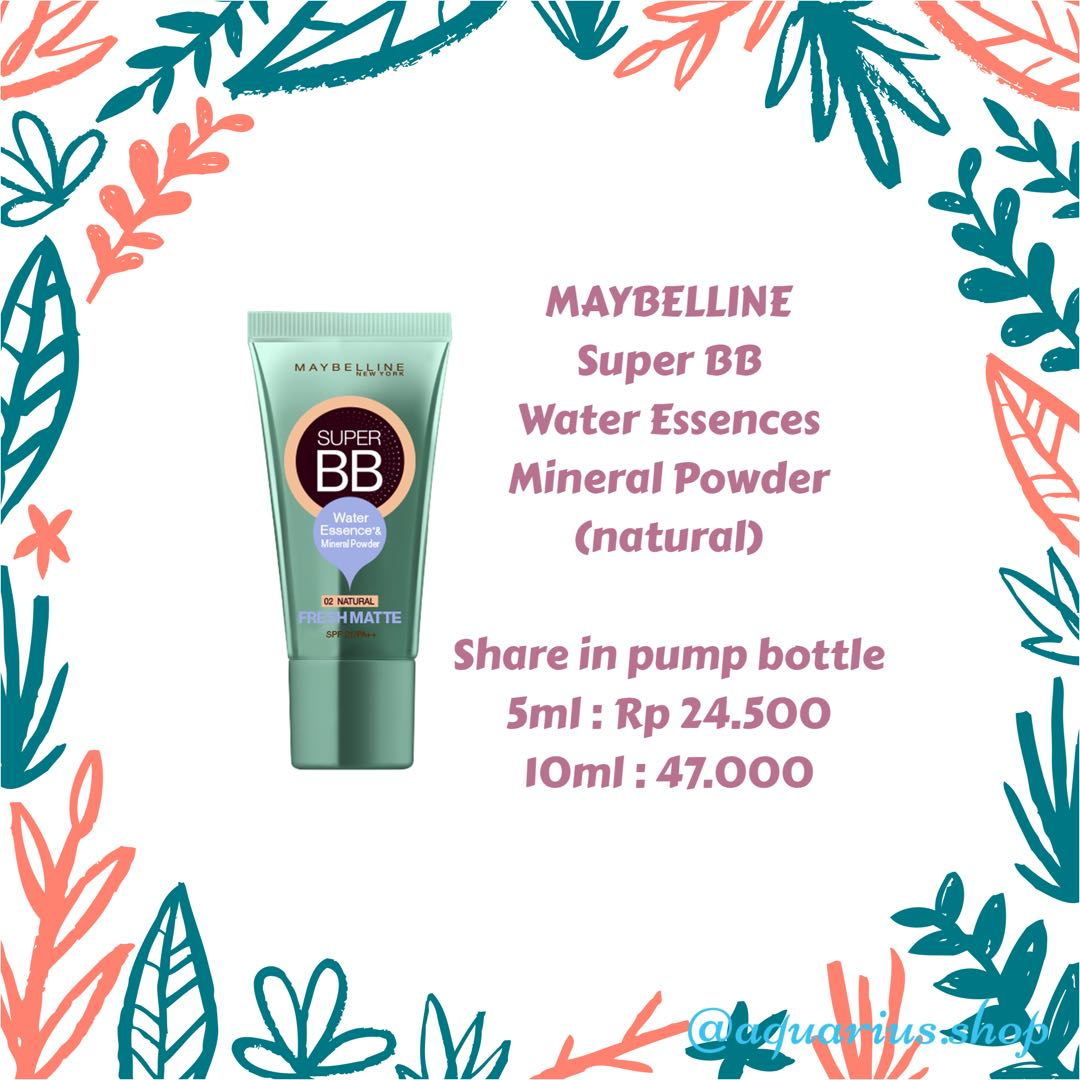 SHARE IN BOTTLE Maybelline BB Cream