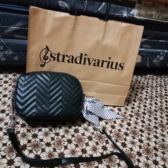 Slingbag stradivarius black