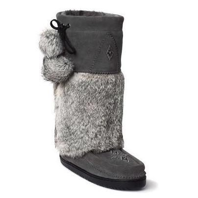 Snowy Owl 'Manitobah Mukluks' Boots