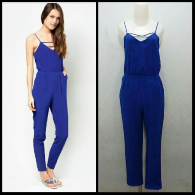 Something Borrowed Blue Jumpsuit