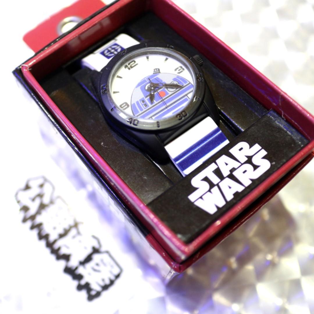 「Starwars Star Wars 星際大戰 R2D2 手錶 @公雞漢堡」