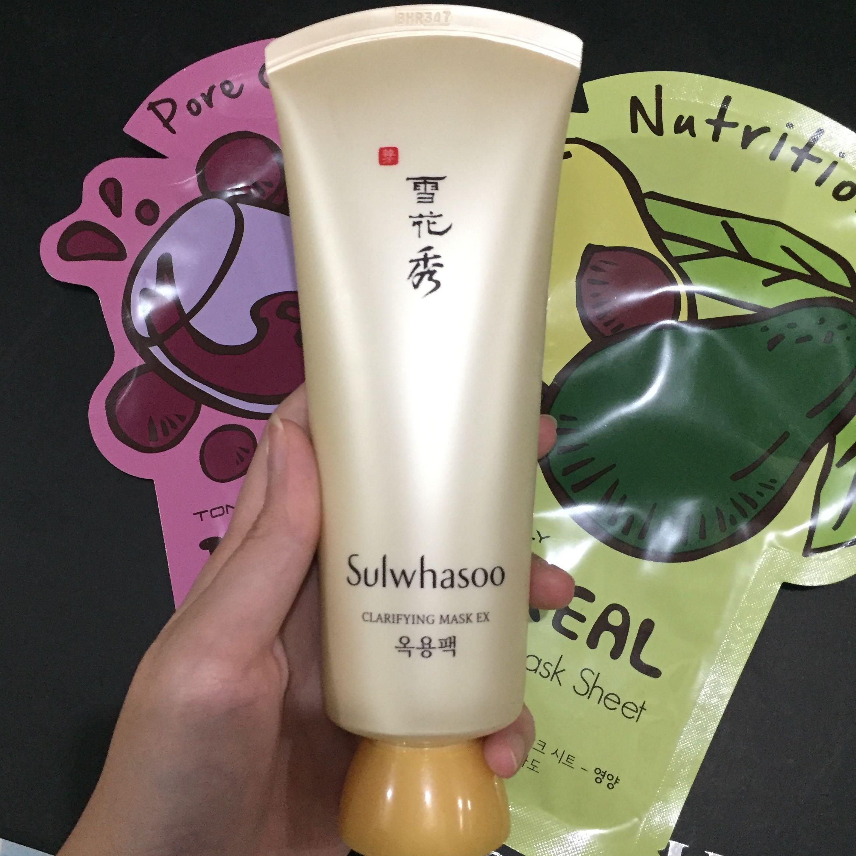 Sulwhasoo clarifying mask (bonus mask)