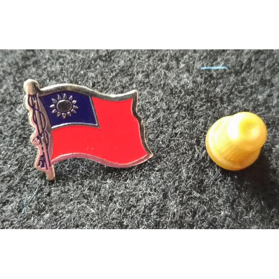 Taiwan Flag Pin
