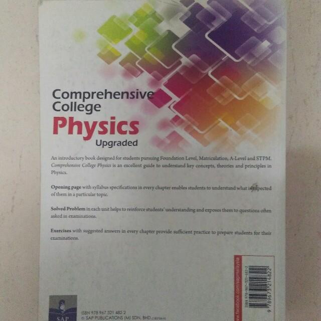 [TextBook] Physics Matriculation