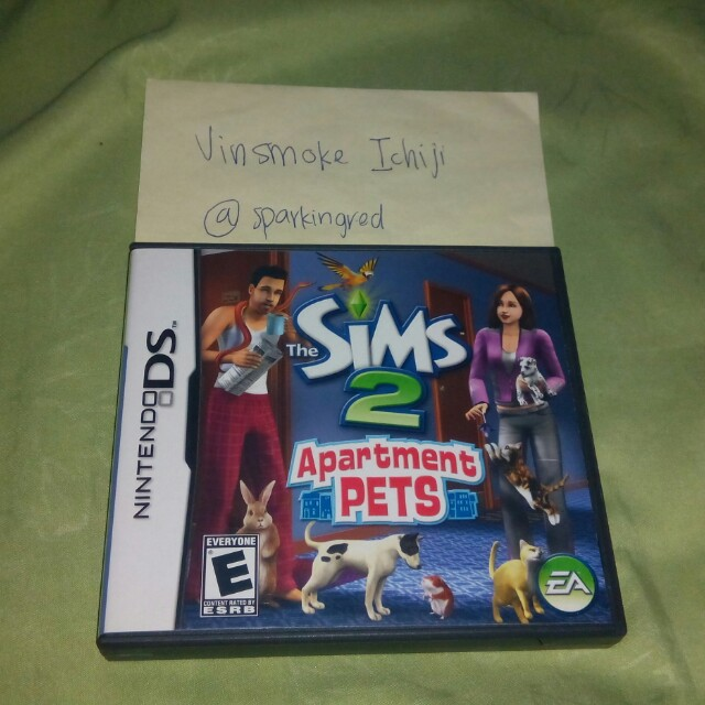 The Sims 2 Apartment Pets NDS