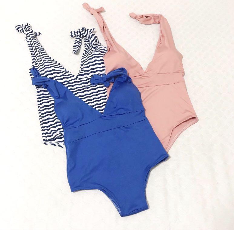 Tie swimwear