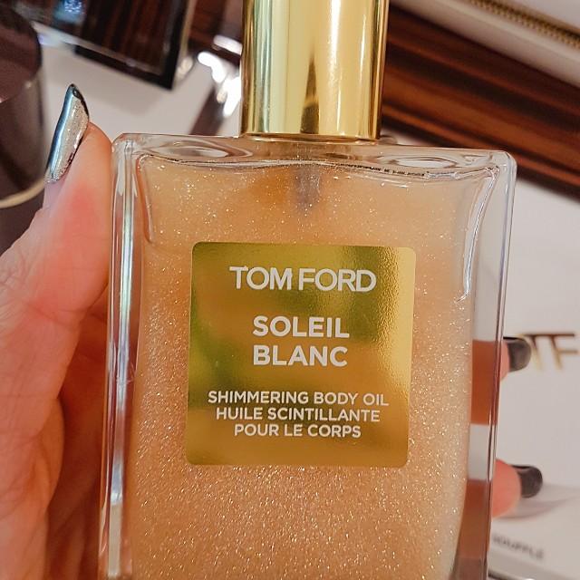 tomford soleil blanc shimmering body oil 100ml, health & beauty