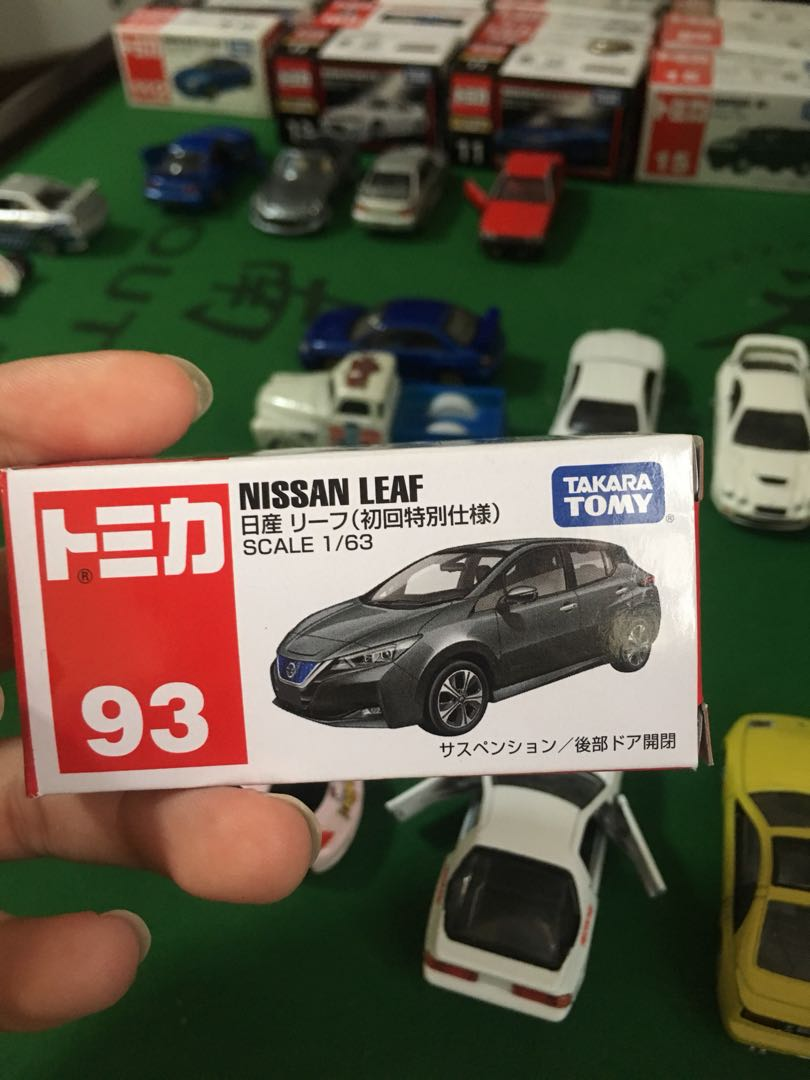 Tomica Nissan Leaf Toys Games Bricks Figurines On Carousell Initial D Skyline Gt Rr32 No 141 Dream