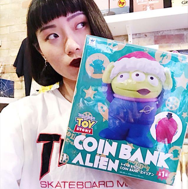 TOYSTORY 玩具總動員 阿三聖誕存錢筒