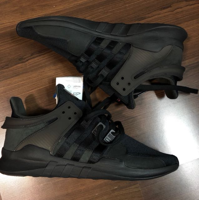best service 6fee8 94ea7 Tried Once Adidas Originals EQT Support Adv Triple Black ...