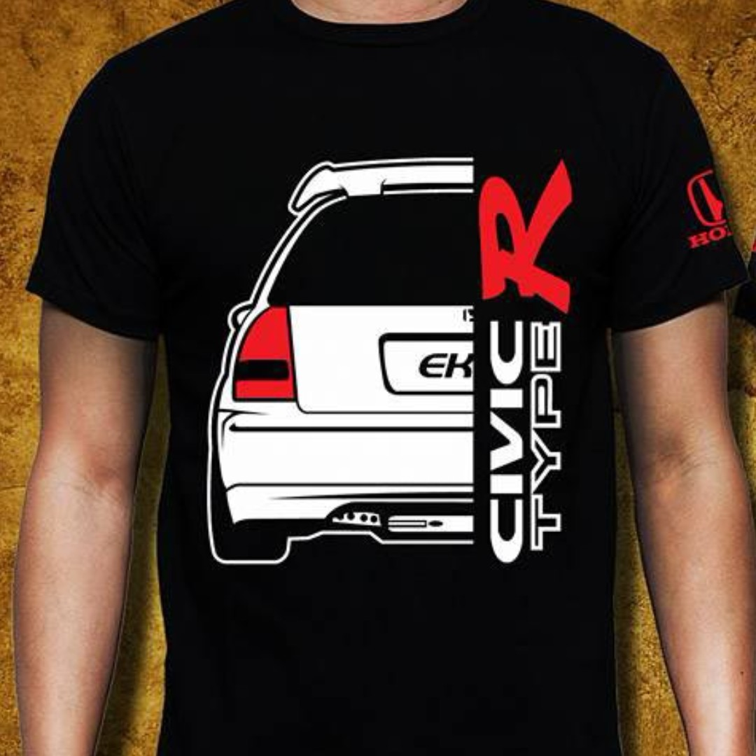 T Shirt Honda Civic Ek9 Men S Fashion Clothes Tops On Carousell