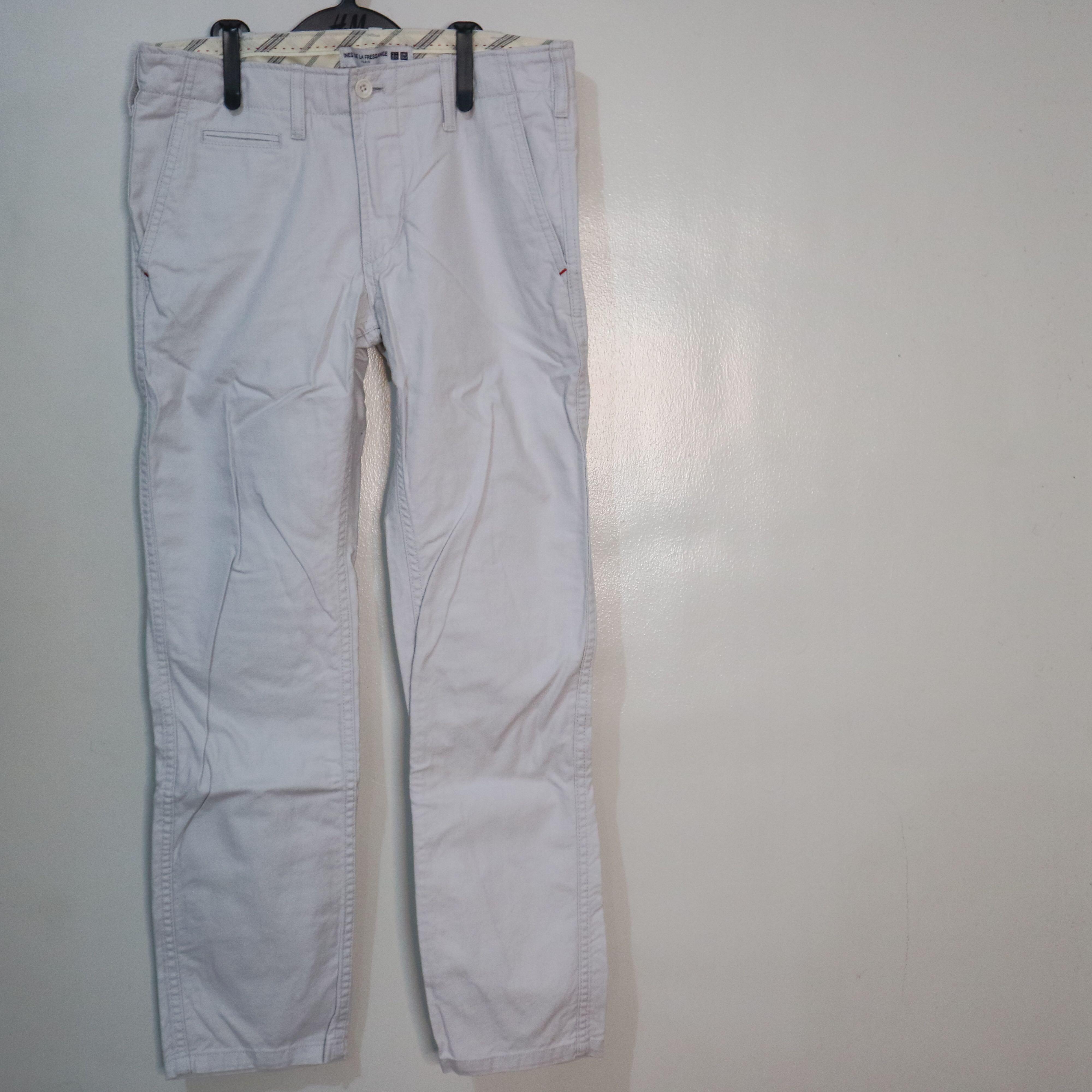 Uniqlo Trousers - Cream