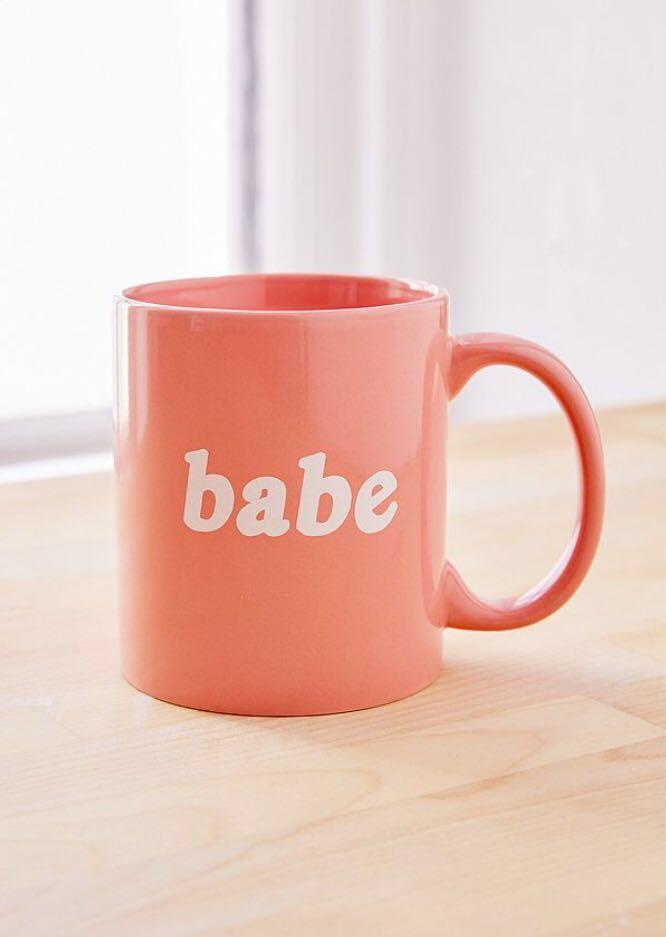 Urban Outfitters BABE mug