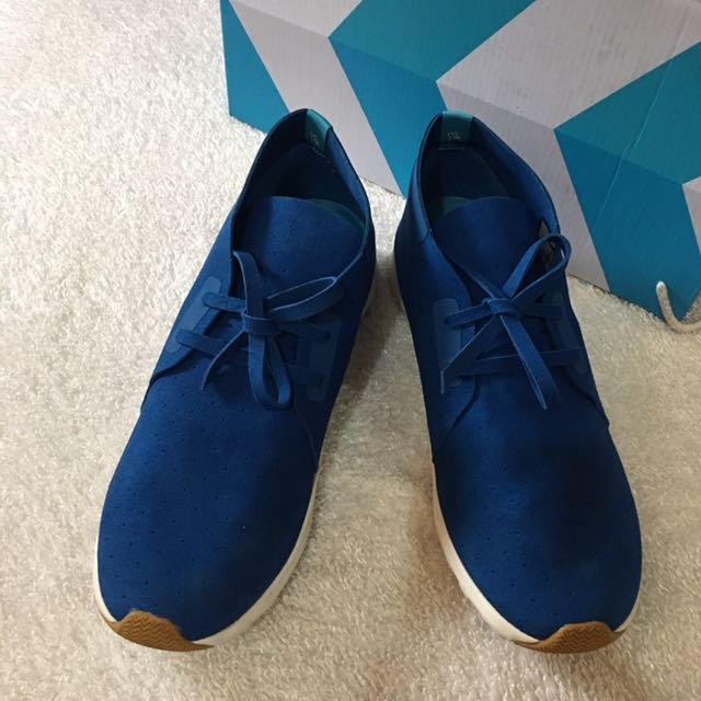 VICTORIA BLUE APOLLO CHUKKA NATIVE SNEAKERS