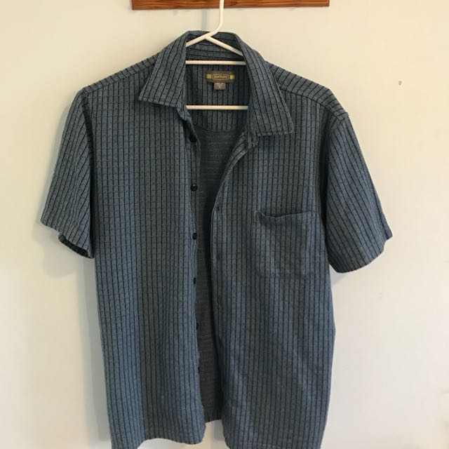 Vintage Men's Button Up Shirt
