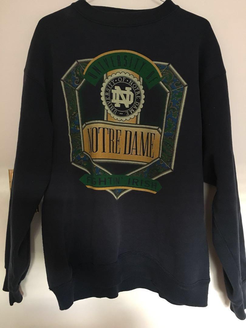 Vintage Notre Dame University Sweater