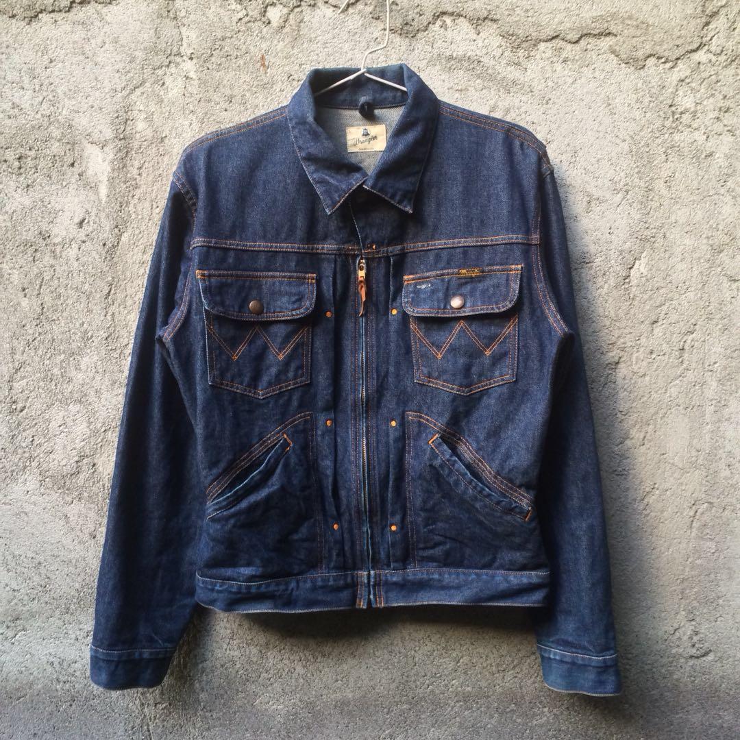 Vintage Wrangler Blue Bell Jacket Jeans