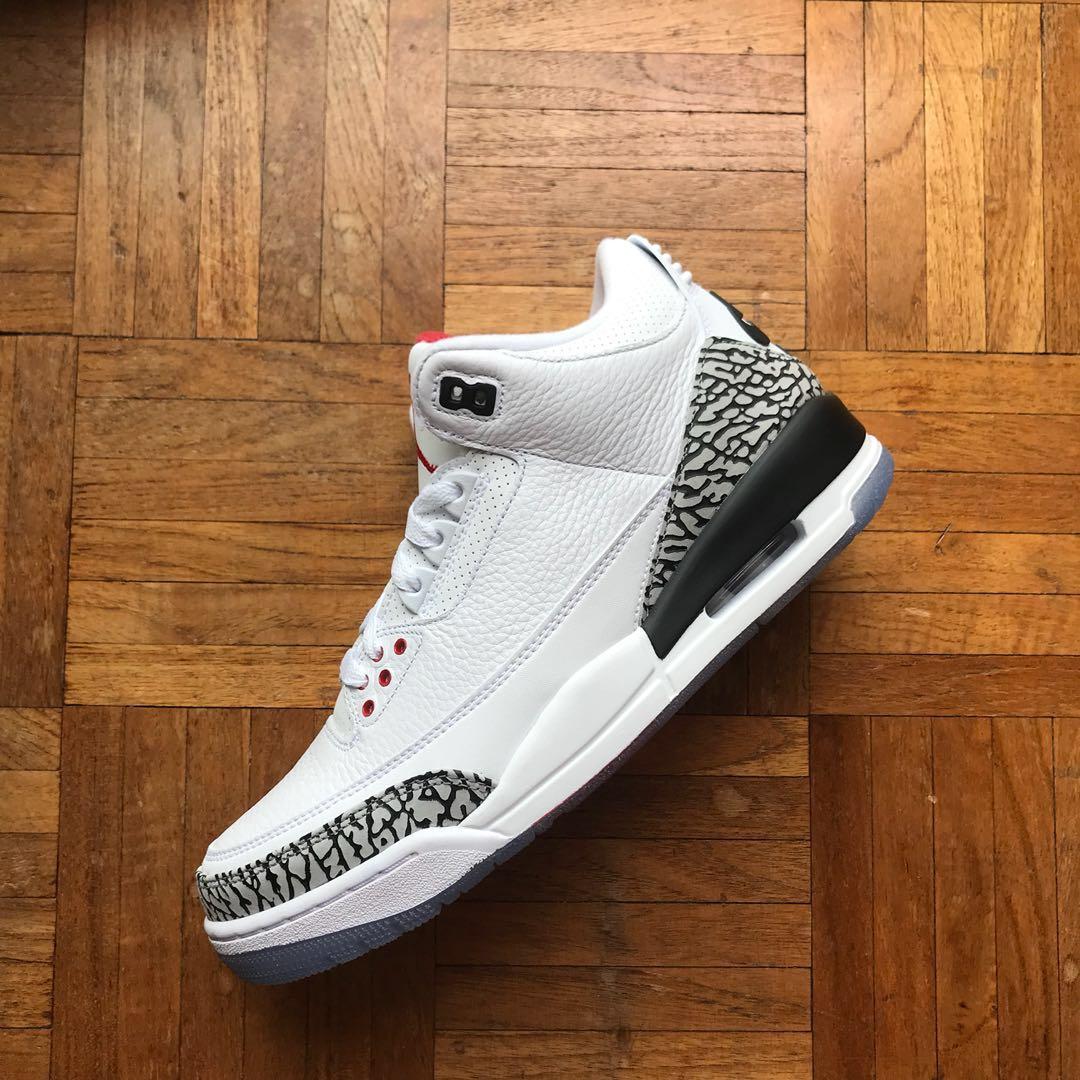 100% authentic 54e13 55d22 WTS WTT Nike air Jordan 3 free throw line, Men s Fashion, Footwear ...