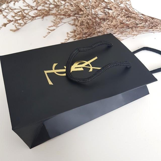 YSL paper bag