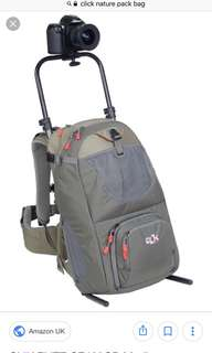 Clik Elite Nature Pack with Clikstand camera backpack