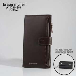 BRAUN  MULLER Wallet W-1210*