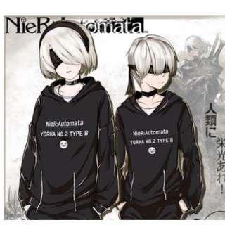 全新 PS4 Nier 尼爾 自動人形衛衣 Cosplay 服 外套 Jacket (男女合穿)