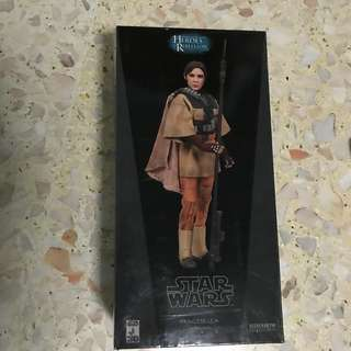 "SIDESHOW COLLECTIBLES_Star Wars_LEIA as BOUSHH 12"" figure"