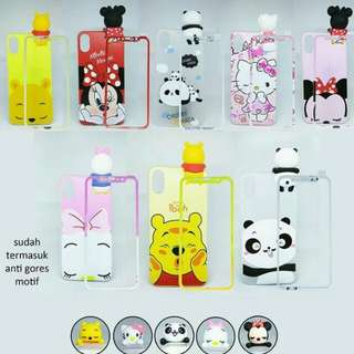 Peep case + tempered glass full motif