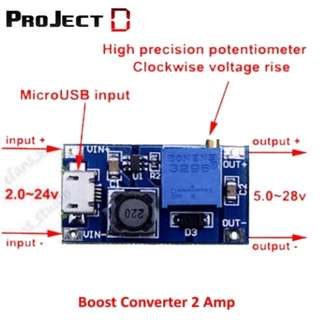 Boost Converter 2A / TP4056 W/Protection