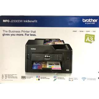 brother A3 printer - 3 yrs on site warranty