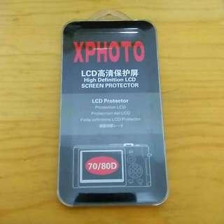 Canon 70D/80D LCD高清保護貼