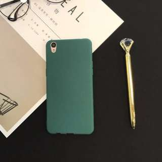 Ultra Slim Silicone Soft Case For Oppo - GREEN ONLY