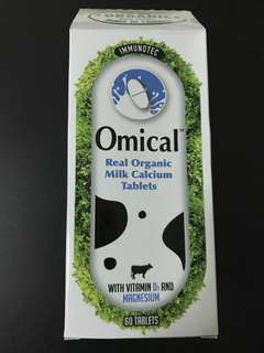 Omical milk calcium tablets