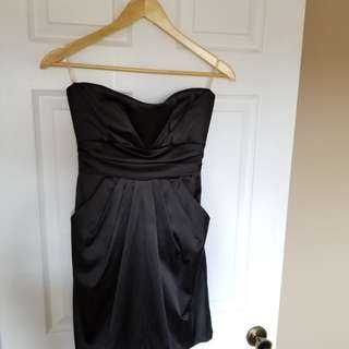 Strapless Formal Mini Dress