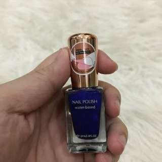Miniso nail polish peel off water based jewelry blue atau kutek miniso