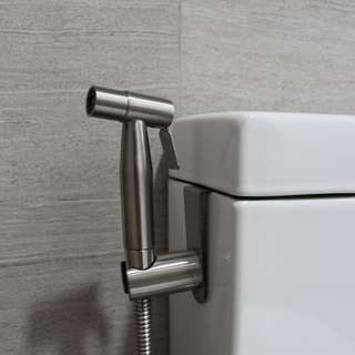 Brand New Stainless Steel Bidet Spray With Stainless Steel Hook Holder (Free Delivery With Purchase Of 2 Set And Above)