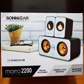 SonicGear MORR0 2200 2.2 speaker system